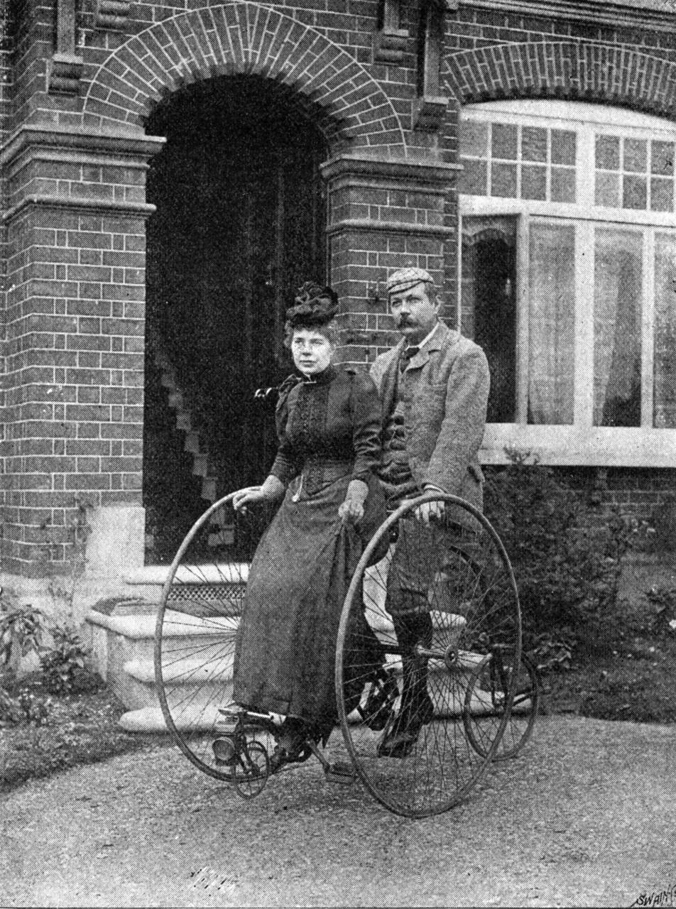 Артур конан дойл и его жена 1892